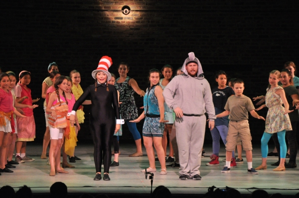 Alexandra Schwartz, Stephen Orr and The Camp Broadway Kids