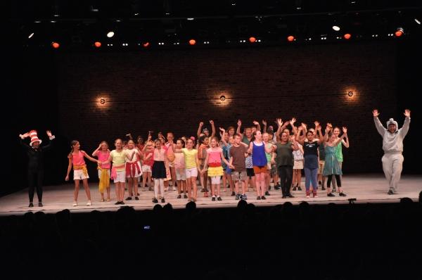 Alexandra Schwartz, Stephen Orr and The Camp Broadway Kids Photo