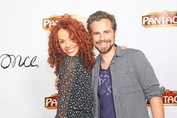 Janet Dacal (In the Heights/Wonderland) with Rider Strong (Boy Meets World)