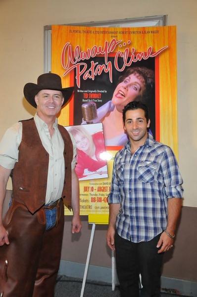 B. Harlan Boll and Johnny Cannizzaro Photo