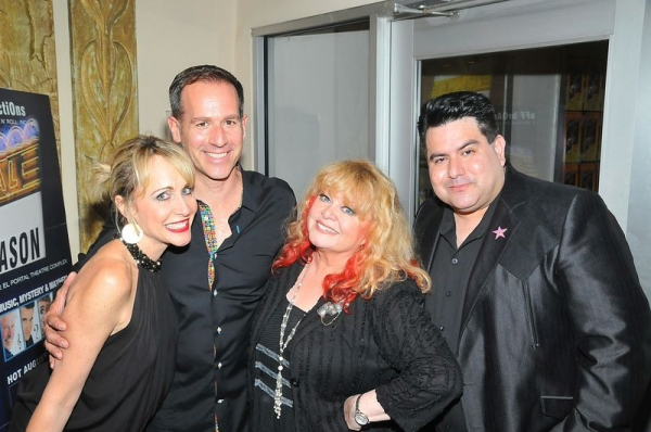 Carter Calvert, John Randall, Sally Struthers, and Michael Munoz