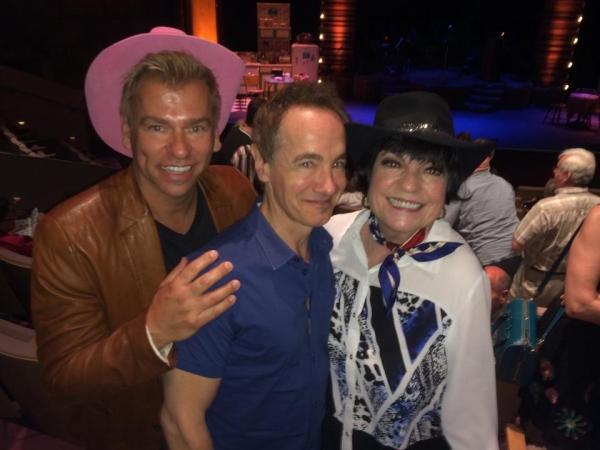 Todd Sherry, Jason Graae, and Joanne Worley