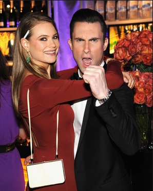 THE VOICE's Adam Levine and Model Behati Prinsloo Tie the Knot!