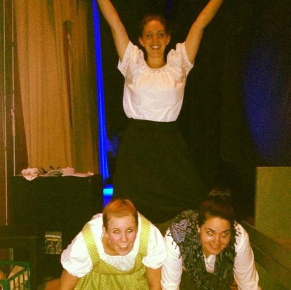Photo Flash: Saturday Intermission Pics, Part 2 - 7/19 - NEWSIES Get Together, HEATHERS Sings, and More