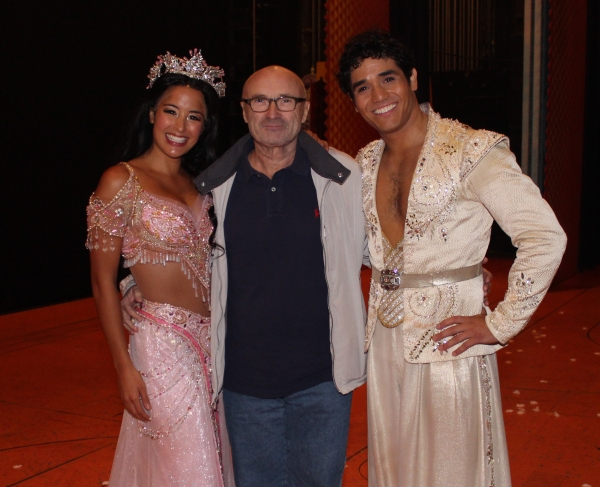 Photo Coverage: Backstage at ALADDIN with Phil Collins!