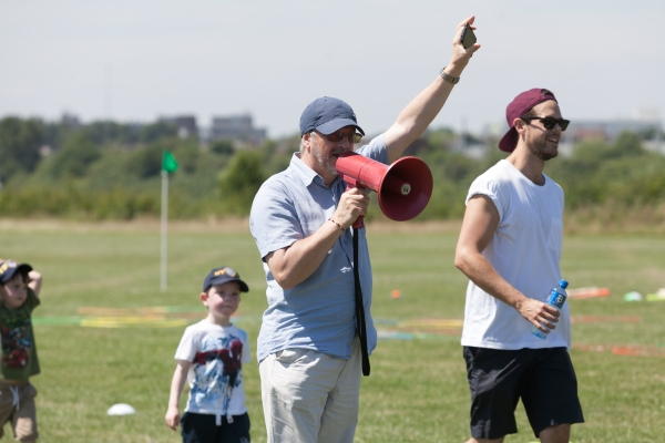 Photo Coverage: West End Charity Sports Day