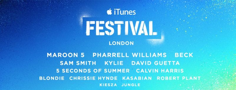 Pharrell, Maroon 5, Sam Smith & More Set for 2014 iTunes Festival