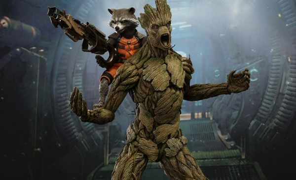 First Look - GUARDIANS OF THE GALAXY Action Figures & New Extended Clip!