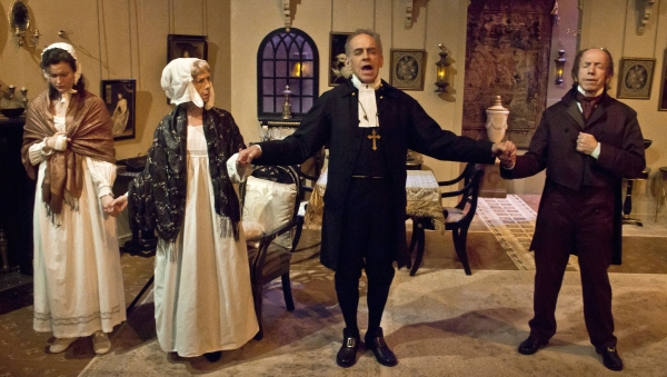 Photo Flash: First Look - Conor McPherson's THE VEIL at Quotidian Theatre Company, Now Through 8/17