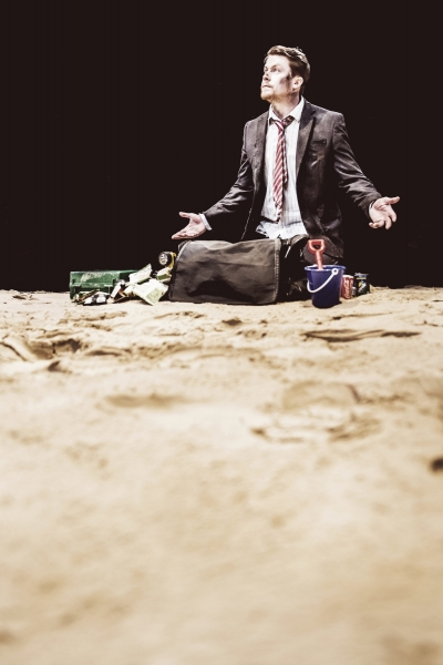 Photo Flash: First Look at Tom Basden's HOLES in Arcola Tent, Opening Tomorrow