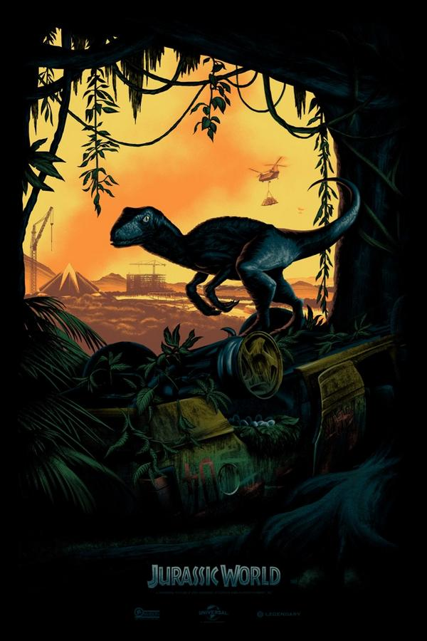 First Poster Art Revealed for JURASSIC WORLD!