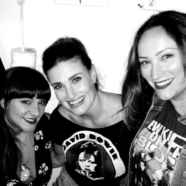 WICKED Trifecta! Eden Espinosa & Shoshana Bean With Idina Menzel At IF/THEN