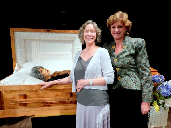 Rosemary Alexander and Cherry Norrise (Dr. Eve Bolinger) Photo