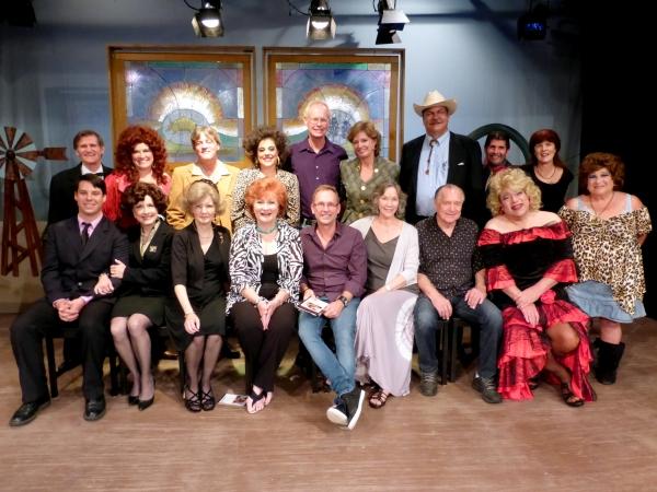 FRONT: Michael Sandidge, Alison Mattiza, Catherine Rahm, Ann Walker, Del Shores, Rose Photo