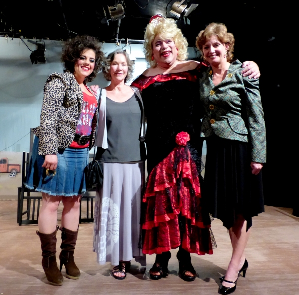 Samantha Barrios, Rosemary Alexander, Greg Abbott, Cherry Norris Photo
