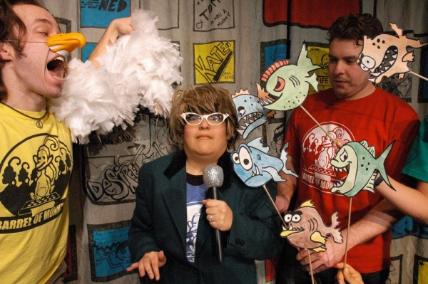 Photo Flash: Sneak Peek at Barrel of Monkeys' THAT'S WEIRD, GRANDMA: BACK TO SCHOOL EDITION, Running 9/8-10/6