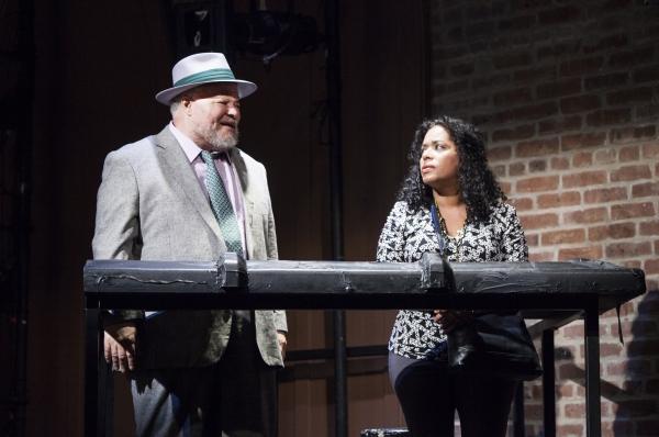 Stephen McKinley Henderson and Liza Colon-Zayas