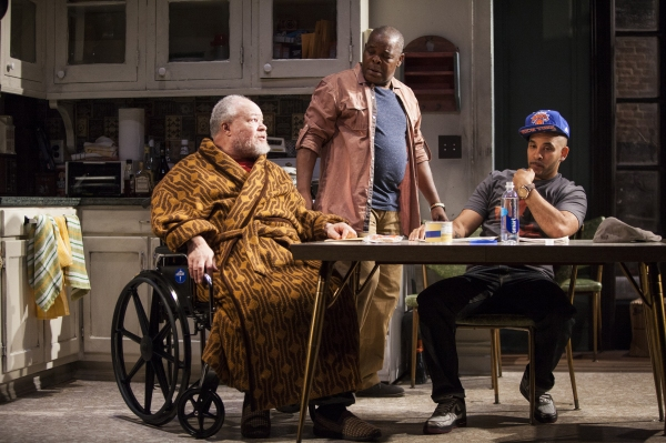 Stephen McKinley Henderson, Ray Anthony Thomas and Victor Almanzar