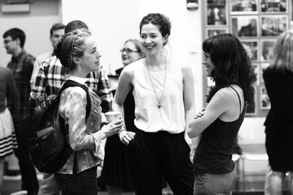 Photo Flash: In Rehearsal with Signature Theatre's AND I AND SILENCE