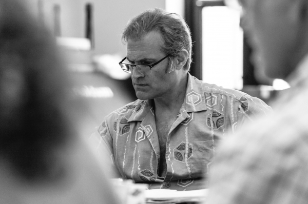 Photo Flash: In Rehearsal with the Company of Signature Theatre's THE WAYSIDE MOTOR INN