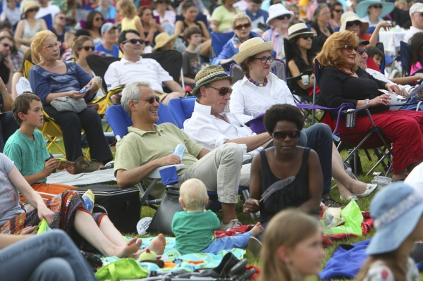 Chicago Shakespeare in the Parks is championed by Mayor Rahm Emanuel as the inspirati Photo