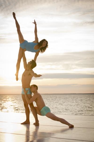 Kristine Bendul, David Elder and Kurt Froman