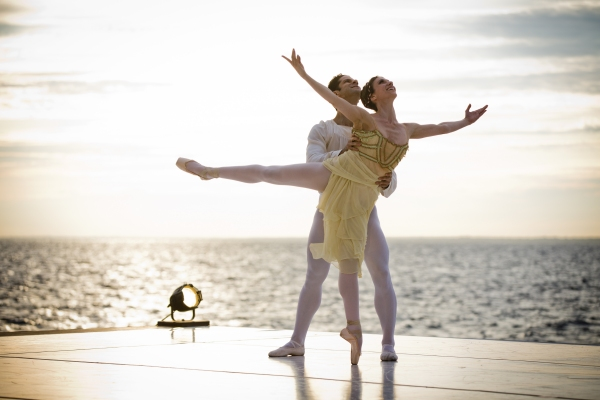 Marcelo Gomes and Luciana Paris