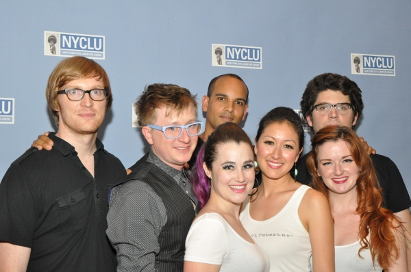 Photo Coverage: On the Red Carpet of BROADWAY STANDS UP FOR FREEDOM with Lena Hall, Bryce Pinkham & More!