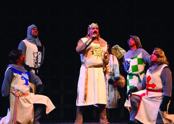 Photo Flash: First Look at Laurence Paxton, Kalia Medeiros & More in DHT's SPAMALOT