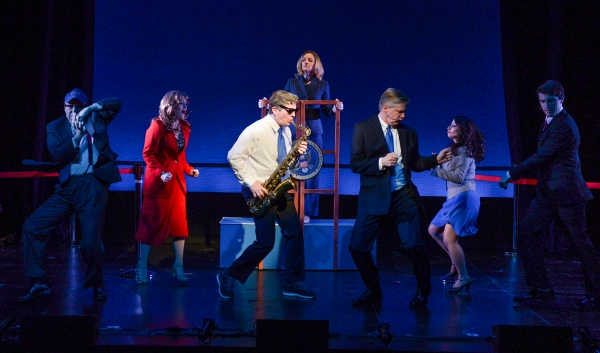 Photo Flash: First Look at Karl Kenzler, Duke Lafoon & More in NYMTF's CLINTON: THE MUSICAL