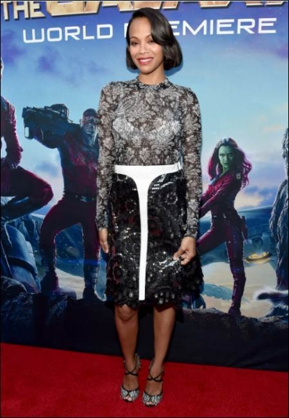Photo Flash: Bradley Cooper, Zoe Saldana & More Attend GUARDIANS OF THE GALAXY Premiere