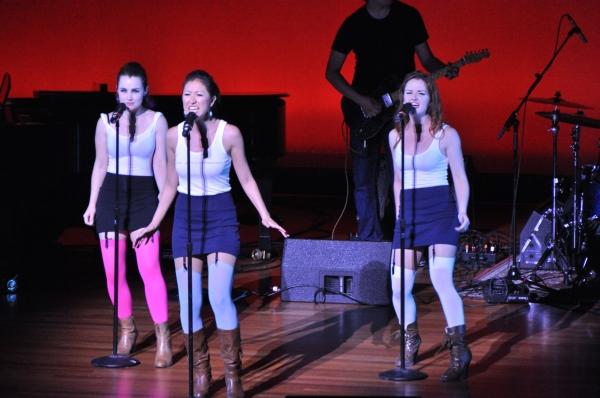 Lauren Worscham with Jessi Suzuki and Lizzie O''Hara Photo