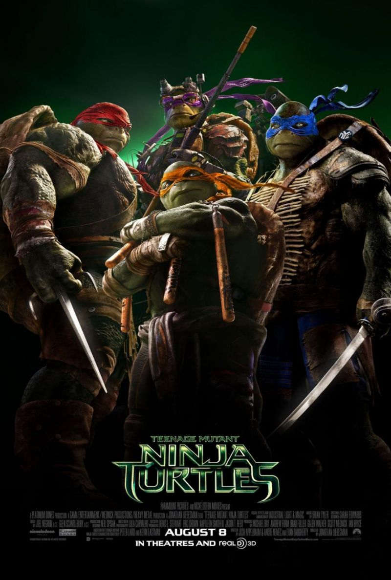 New Poster/Music Video Revealed for TEENAGE MUTANT NINJA TURTLES