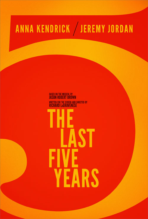 Breaking News: 'THE LAST FIVE YEARS' Film Set To Premiere at TIFF