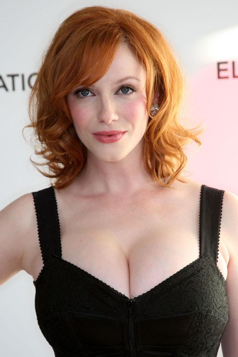 Christina Hendricks Reveals MAD MEN Cast Sang Showtunes At Series Wrap Party