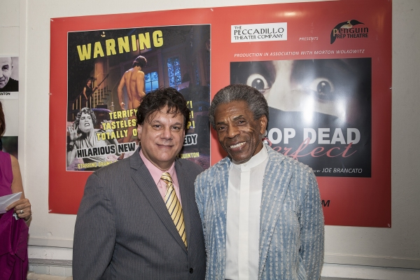 Director Joe Brancato and Andre DeShields
