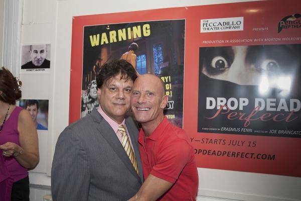 Director Joe Brancato and David Drake Photo