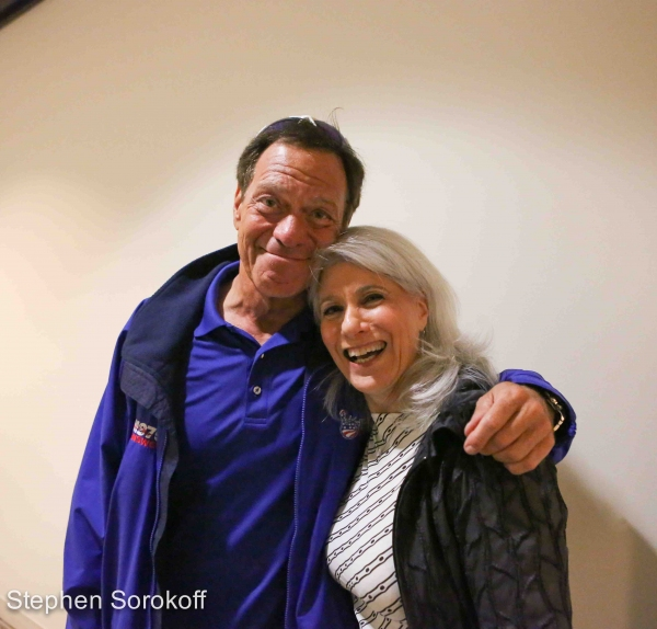 Photo Coverage: CINDERELLA's Paige Faure and Nancy Opel Vist Backstage with Peter LeDonne