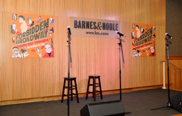 Welcome to Barnes and Noble and Forbidden Broadway: Comes Out Swinging