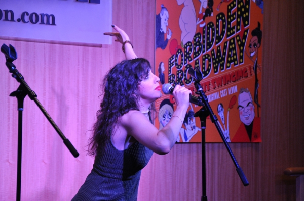 Photos: FORBIDDEN BROADWAY: COMES OUT SWINGING Cast Previews Album at Barnes & Noble!