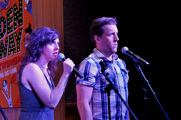 Photo Coverage: FORBIDDEN BROADWAY: COMES OUT SWINGING Cast Previews Album at Barnes & Noble!