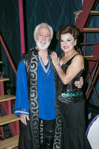 John Rubinstein and Priscilla Lopez