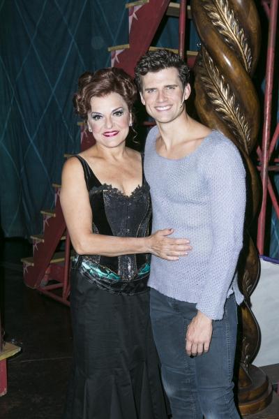 Priscilla Lopez and Kyle Dean Massey Photo