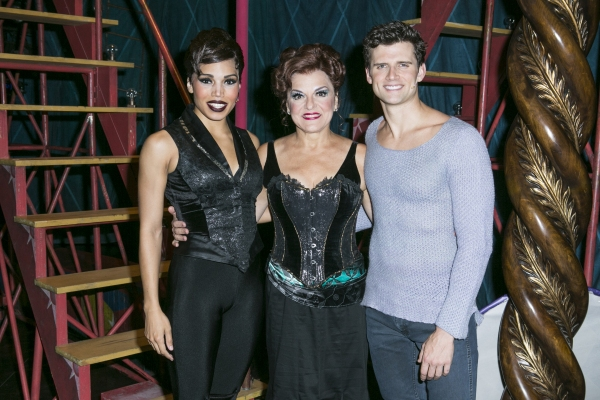 Ciara Renee, Priscilla Lopez and Kyle Dean Massey