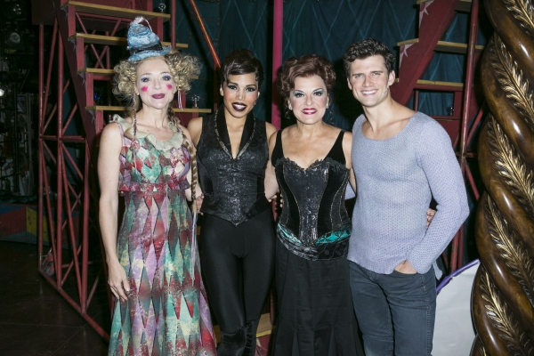 Rachel Bay Jones, Ciara Renee, Priscilla Lopez and Kyle Dean Massey