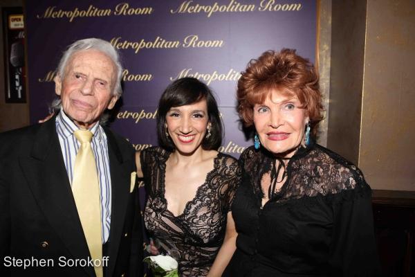 Ervin Drake, Gabrielle, Edith Drake Photo