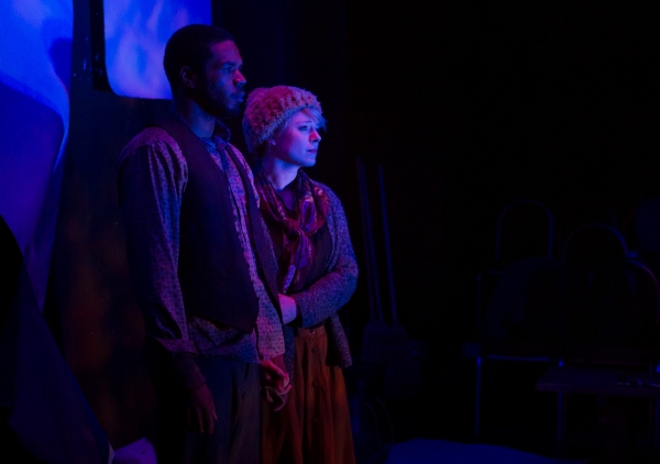 Photo Flash: First Look at Travis Delgado, Stephanie Polt and More in Oracle's THE JUNGLE
