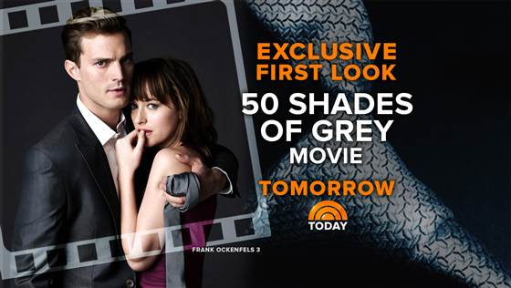 NBC's TODAY Airs Exclusive First Look at 50 SHADES OF GREY