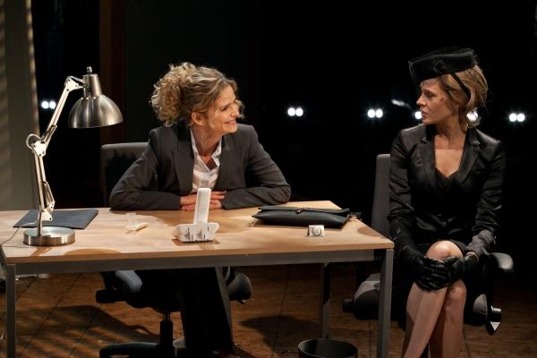Kyra Sedgwick and Annika Boras