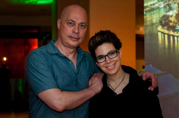 Brad Fraser and Jennifer Rudolph Photo